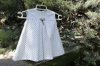 paso a paso vestido de bebé