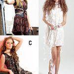 patron gratis para confeccionar 3 modelos de vestido
