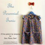 patrón y tutorial vestido básico de niña