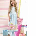 Patrón gratis: vestido de niña Bernina