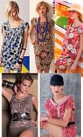 patrones para 5 modelos de vestidos de verano