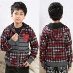 Patrón gratis: abrigo con capucha niño