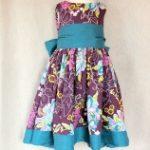 patrón y tutorial vestido de ceremonia niña