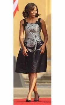 vestido de Michelle Obama