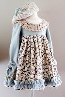 paso a paso vestido de invierno para niña