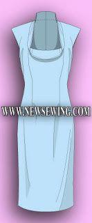 Patrones gratis vestidos tallas grandes