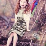 tutorial vestido de niña con volantes
