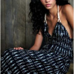 patrón gratis e instrucciones de vestido con escote halter