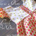 tutorial vestido de niña