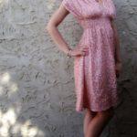 patrón de vestido griego con 3 largos diferentes