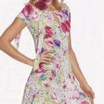 vestido de verano patrón de Burda