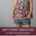 patrón y tutorial vestido de niña