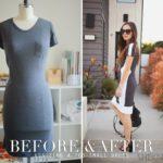 cómo agrandar un vestido que se ha quedado pequeño
