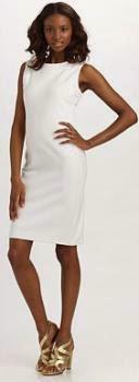 patrón gratis vestido recto para todas las tallas