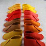 patrón y tutorial zapatillas de niño