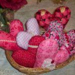 patrones para hacer corazones de tela y tutorial