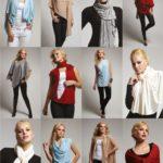 patrón de poncho convertible en blusa, túnica, cárdigan o complementos