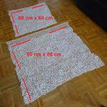 blusa con 2 cuadrados de tela
