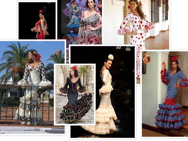 patrones gratis vestidos de flamenca