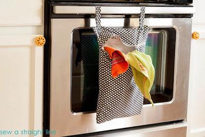 patrón gratis bolsa auxiliar cocina