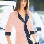 Patrón gratis: blusa de gasa tallas 38-48