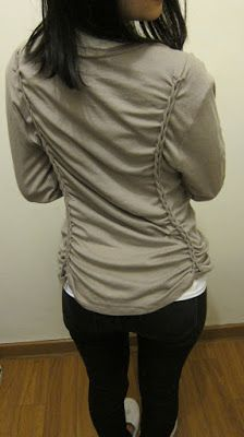 DIY ideas para mangas demasiado largas o camisetas anchas