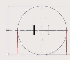 patrón chaleco circulo 2