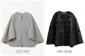patrón de abrigo capa