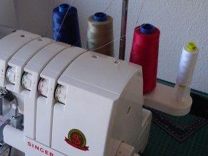 remalladora con bobinas diferentes