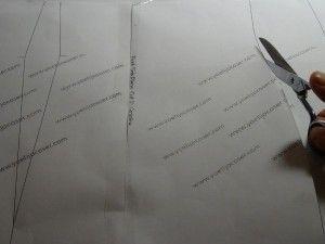 recortar silueta patrón