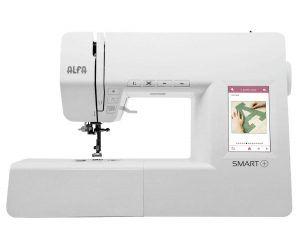 maquina de coser alfa smart