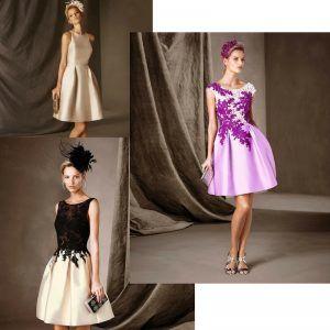 ideas y patron para vestido de fiesta