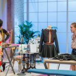 maestros de la costura falda y chaqueta
