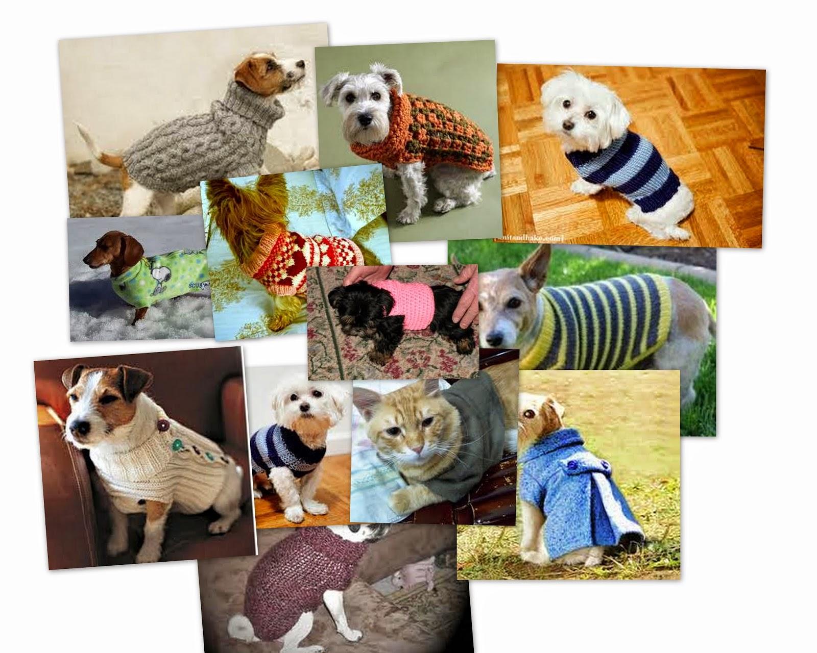 patrones de abrigos para mascotas