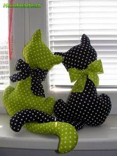 Cojín gato: varios patrones gratis yo elijo Coser
