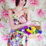 patrón de vestido de verano sencillo con falda asimétrica