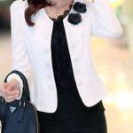 patron de chaqueta con escote redondo