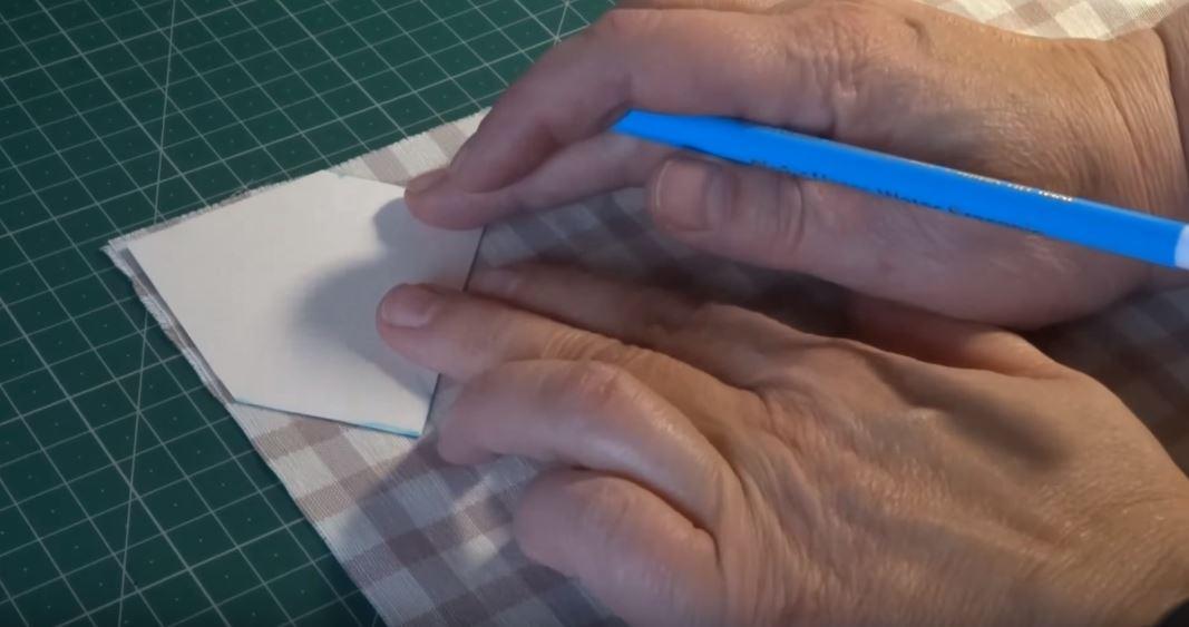 truco para hacer dobladillos en esquina